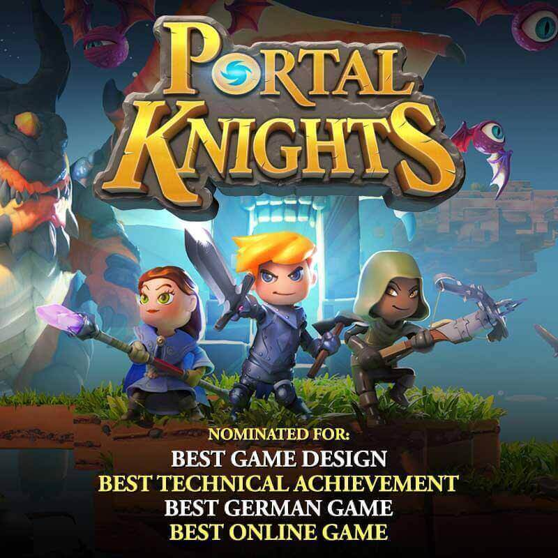 Portal Knights Nominated for Awards