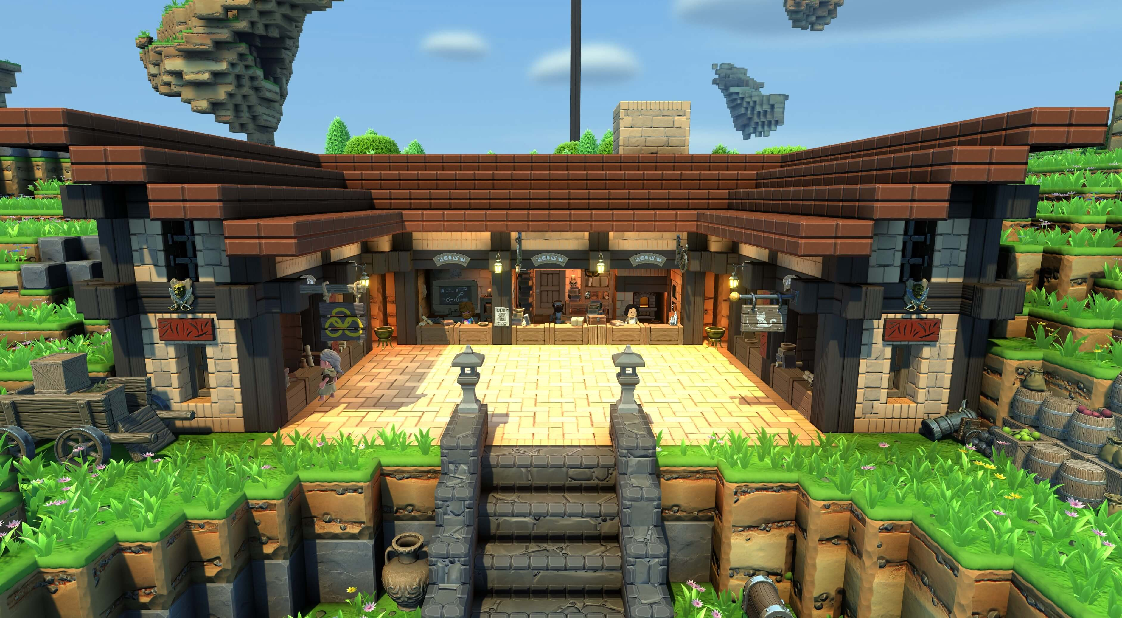 Portal Knights Community Builds & Creative Mode | 505 Games