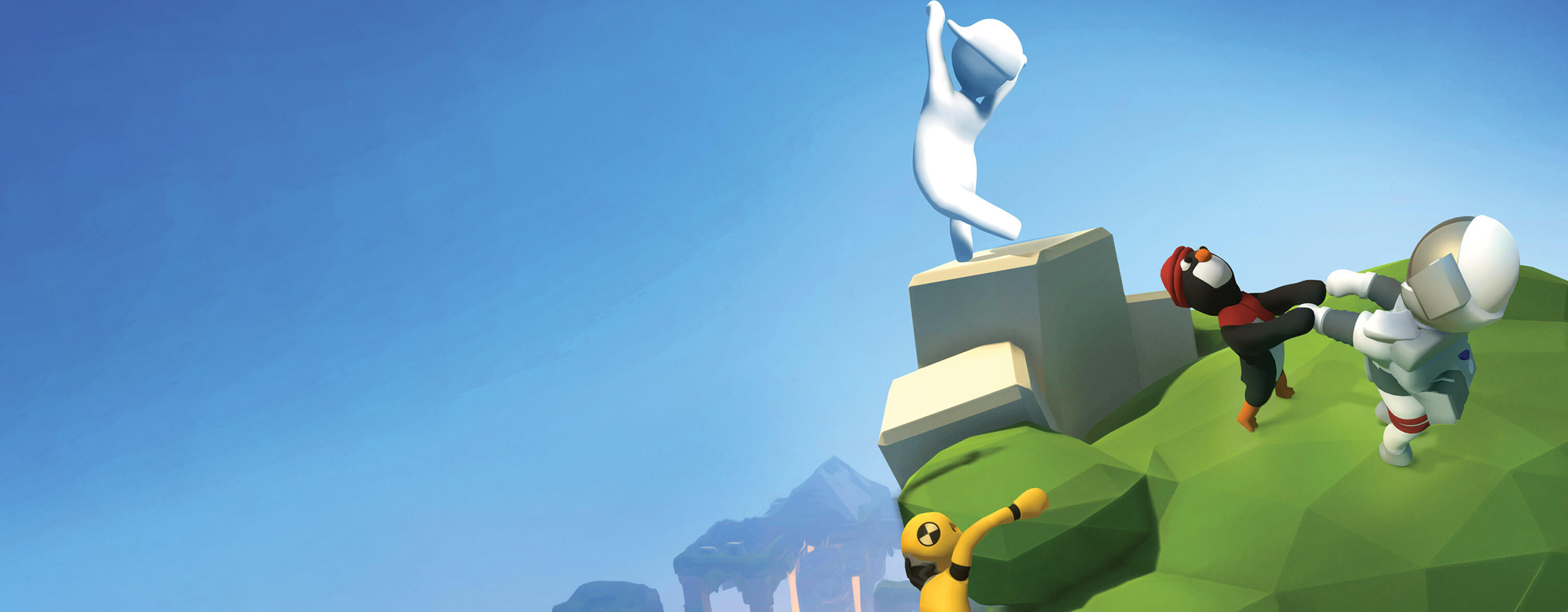 Golf and City levels arrive in Human Fall Flat!