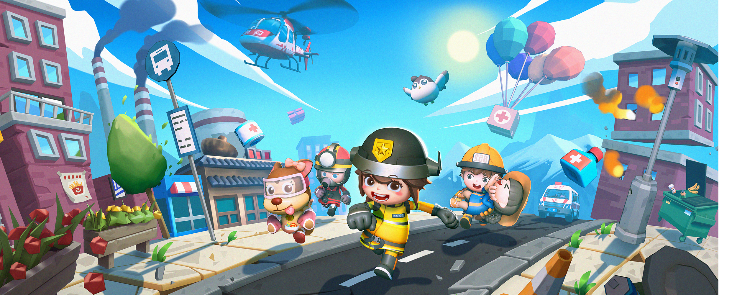 Introducing Rescue Party: Live! Coming to Steam this Fall!