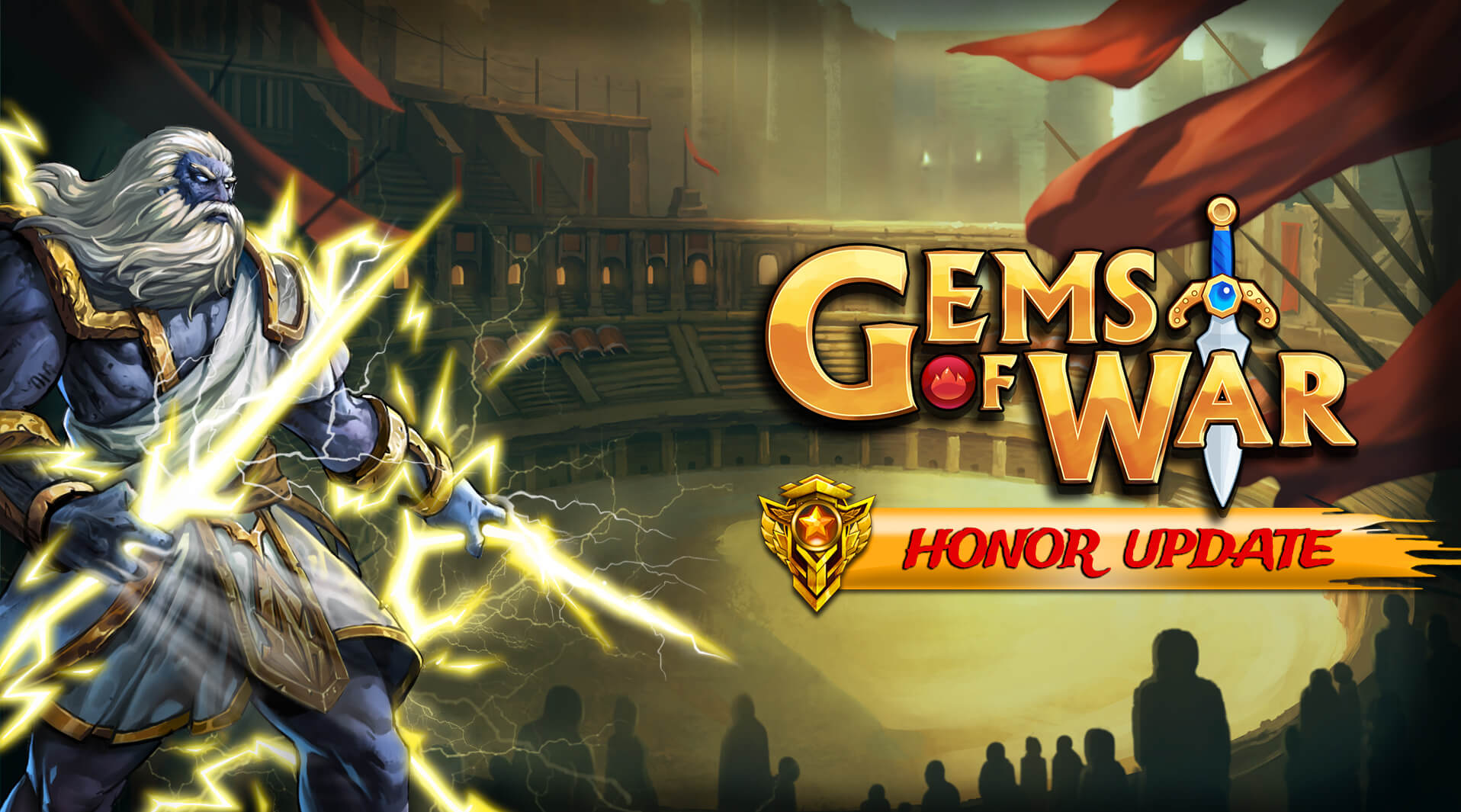 Gems of War Honor Update OUT NOW on Nintendo Switch | 505 Games
