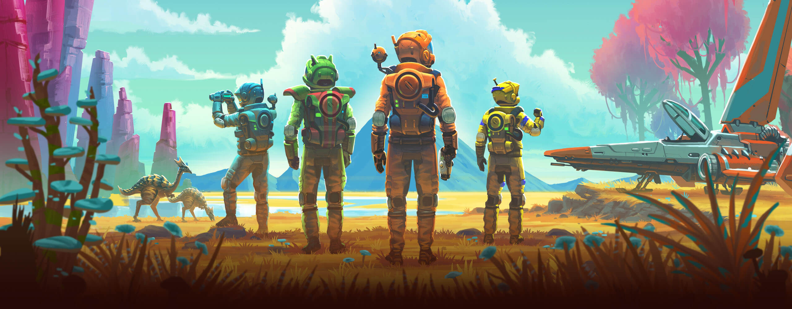 no man s sky next release date and multiplayer announcement 505 games